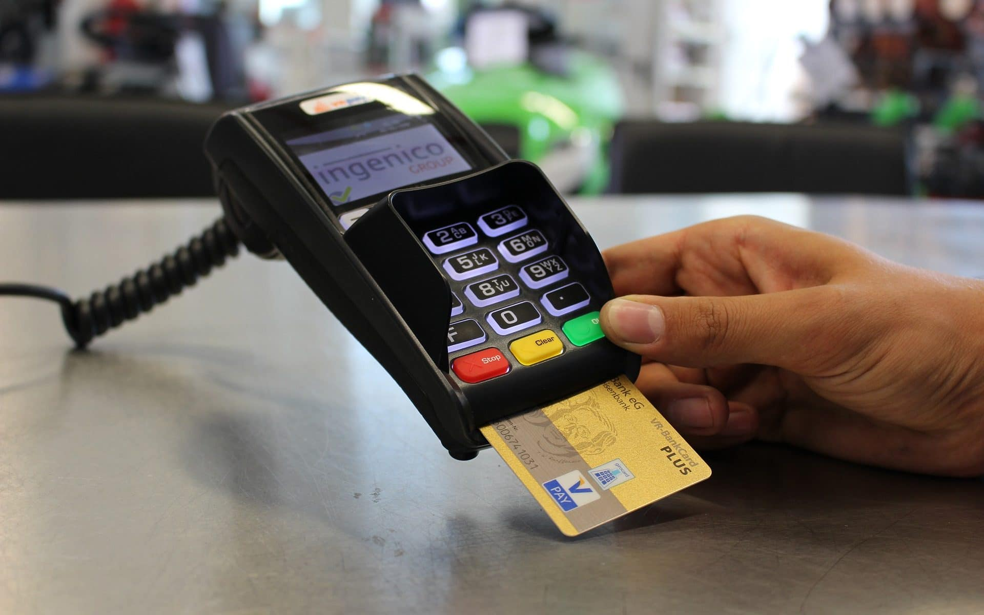 pagos con tarjeta de crédito